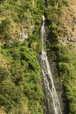 The Waterfall El Cabello del Virgen in Banos, Ecuador Stock Image