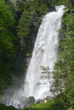 Waterfall at Engelberg on Switzerland Stock Photos