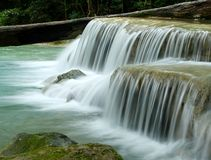 Waterfall-Erawan Stock Image