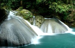 Waterfall-Erawan Royalty Free Stock Image