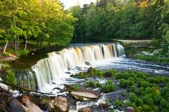Waterfall in Estonia royalty free stock photography