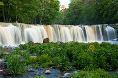 Waterfall in Estonia Royalty Free Stock Photos