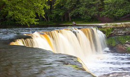 Waterfall in Estonia. A waterfall called Keila Juga in Estonia on a nice summer evening Royalty Free Stock Photos