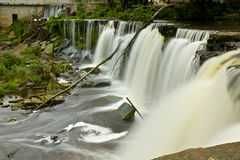 Waterfall in Estonia Stock Photography