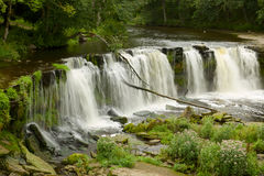 Waterfall in Estonia Royalty Free Stock Image