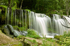 Waterfall in Estonia Stock Image