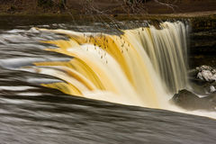 Waterfall in Estonia Royalty Free Stock Photo