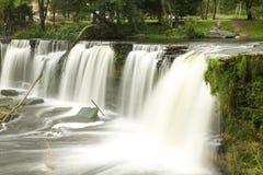 Waterfall in Estonia Royalty Free Stock Image