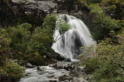 Waterfall at Fairy Pools Scotland Royalty Free Stock Photo