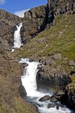 Waterfall Fardagafoss Royalty Free Stock Image