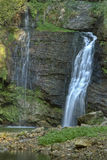 Waterfall Fermona in the forest Royalty Free Stock Image