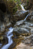 Waterfall flowing stone Royalty Free Stock Photography