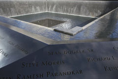 Waterfall Footprint of WTC, National September 11 Memorial, New York City, New York, USA Royalty Free Stock Photography
