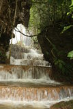 Waterfall at forest Stock Image