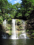 Waterfall in forest Royalty Free Stock Photography
