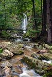 Waterfall in the forest Royalty Free Stock Image