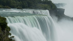 Waterfall forest edge. Video of waterfall forest edge stock footage