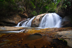 Waterfall in forest. North thailand Stock Image