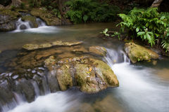 Waterfall in the forest, Sai Yok national park, Thailand Stock Image