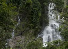 Waterfall in the Forest thailand Stock Photo