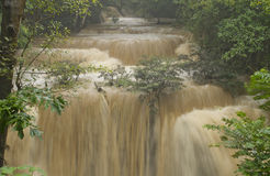 Waterfall in the Forest thailand Stock Photos