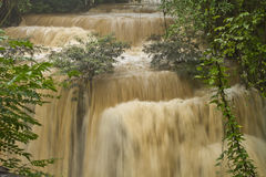 Waterfall in the Forest thailand Stock Photography