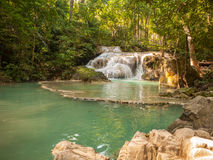 Waterfall in a forest, Thailand Stock Photography