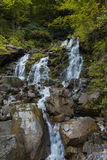 Waterfall. In the forest, Ukraine Royalty Free Stock Photography