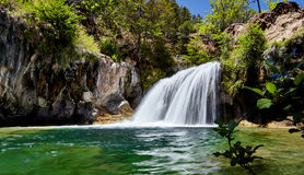 Waterfall at Fossil Creek Arizona Royalty Free Stock Photography
