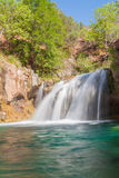Waterfall on Fossil Creek Stock Image