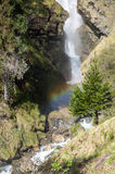 Waterfall in french Alps Royalty Free Stock Images