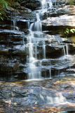 Waterfall front Stock Photo