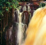 Waterfall in gabon. Waterfall in the jungle of gabon Stock Photo