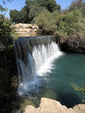 Waterfall Gan HaShlosha Stock Images