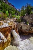 Waterfall of Ganges River Stock Photo