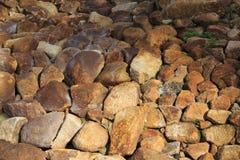Waterfall garden rocks Royalty Free Stock Photography