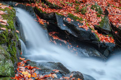 Waterfall in Gatineau Park royalty free stock photography