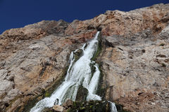 Waterfall in Gibraltar Stock Images