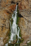 Waterfall on Gibraltar peninsula. Royalty Free Stock Photography