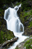 Waterfall in Gifford Pinchot National Forest in Washington Stock Photo