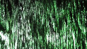 Waterfall glass window abstract background close up stock video