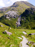 Steall Falls Scotland Royalty Free Stock Photography