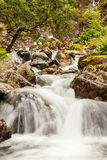 Waterfall in Glen Coe Valley Royalty Free Stock Image