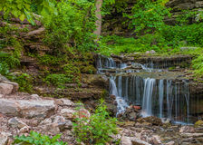 Waterfall In A Glen Stock Photo