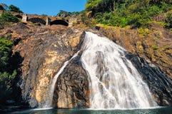 Waterfall in Goa Stock Photos