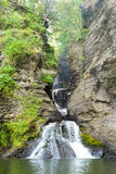 Waterfall Gorge and Pool Royalty Free Stock Photo