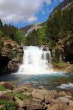 Waterfalls Gradas de Soaso in Ordesa Park Stock Images