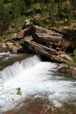 Waterfalls Gradas de Soaso in Ordesa Park Royalty Free Stock Image