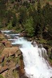 Waterfalls Gradas de Soaso in Ordesa Park Royalty Free Stock Photo