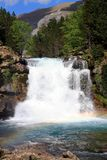 Waterfalls Gradas de Soaso in Ordesa Park Royalty Free Stock Images